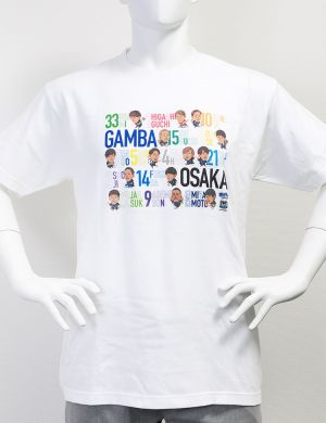 ガンバっこTシャツ (ホワイト)