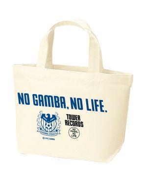 [NO GAMBA, NO LIFE.]ランチトートバッグ (※8月末頃順次発送予定)