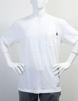 刺繍ポケットTシャツ(WHITE)