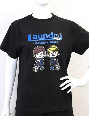 19Tシャツ(ブラック)Laundry×ガンバ